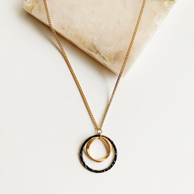 Marlowe Mixed Metal Necklace
