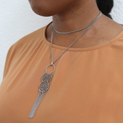 Mirabel 2-in-1 Necklace - Silver