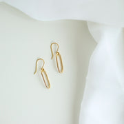 Monterey Oval Link Earrings