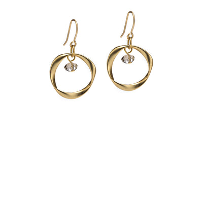 Moonlight Earrings - Gold