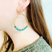 Oasis Earrings – Turquoise