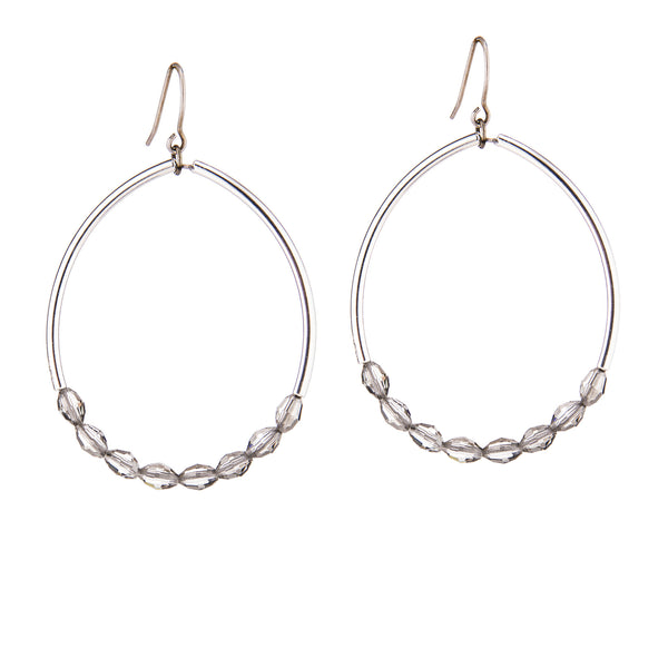 Oasis Earrings - Silver