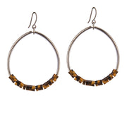 Oasis Earrings – Tiger Eye