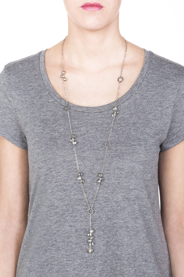 Reflection Necklace - Silver 2