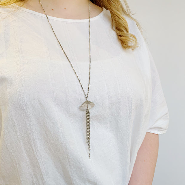 Tranquility Necklace - Silver - Imperfect