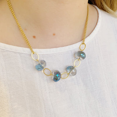 Celestial Necklace - Santorini Blue