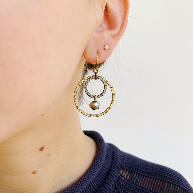 Meteorite Earrings - Mixed