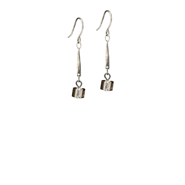 Shadow Earrings - Silver