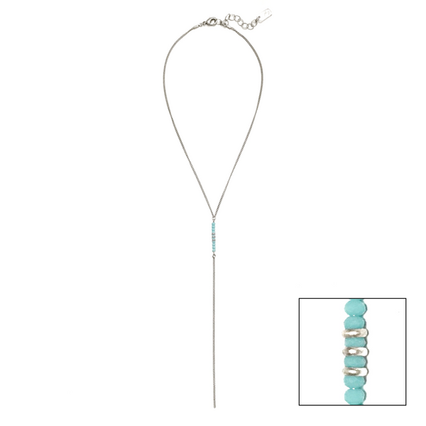 Sierra Y Necklace - Turquoise