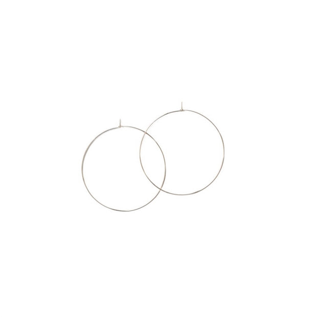 Essential Small Hoops - Sterling Silver - Imperfect