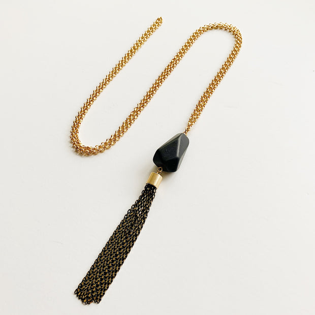 Souk 2-in-1 Necklace - Onyx