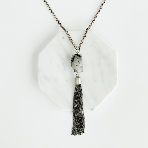 Souk 2-in-1 Necklace - Quartz