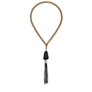 Souk Convertible Necklace - Black 2