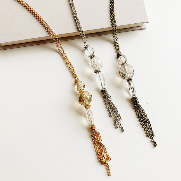 Spire 2-in-1 Necklace – Gold