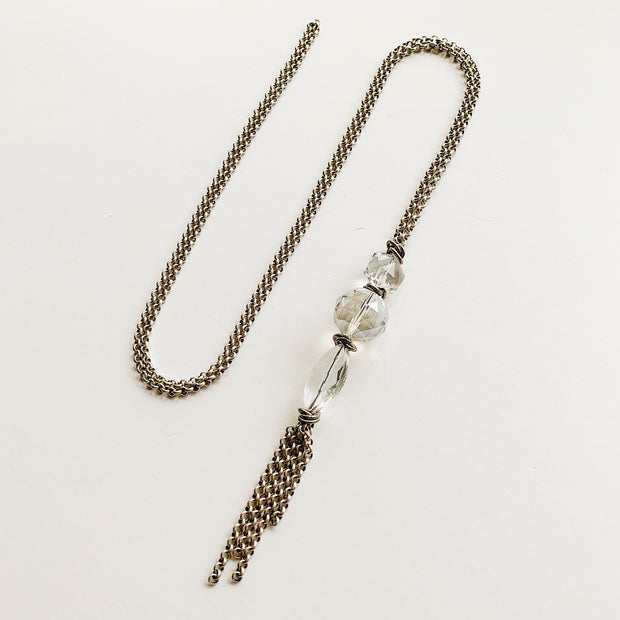 Spire 2-in-1 Necklace - Silver