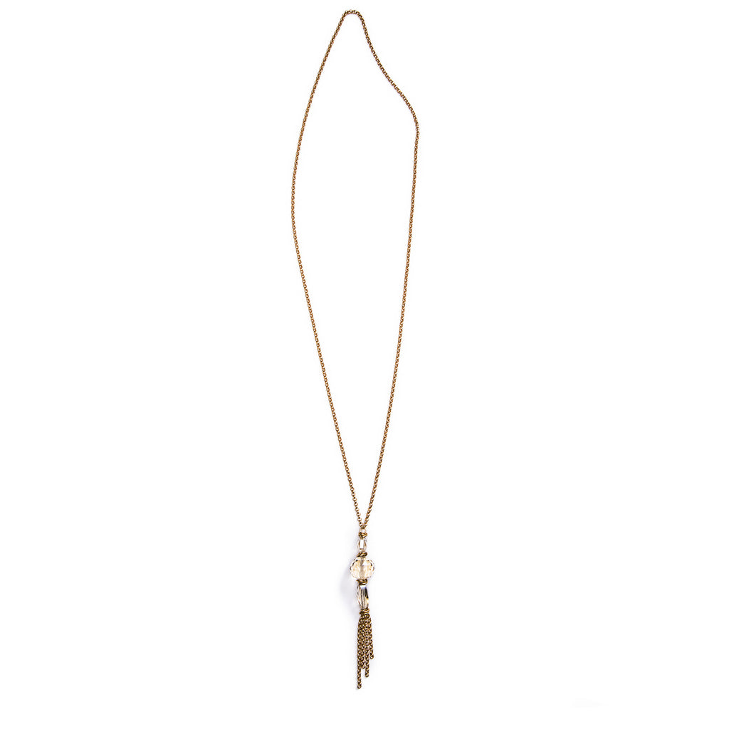 Spire Convertible Necklace – Gold 1