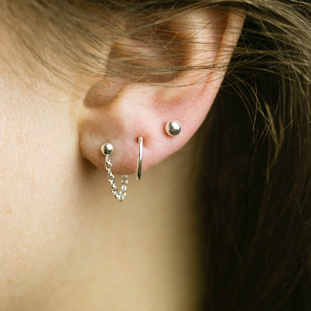 The Stacked Ear Set - Sterling Silver