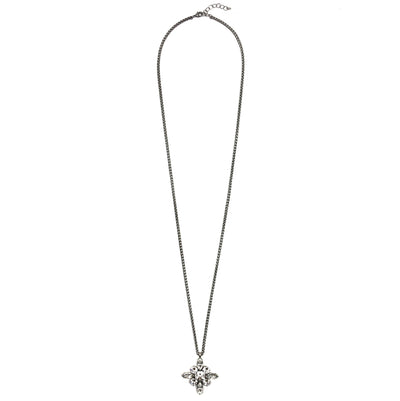 Tudor Convertible Necklace - Silver