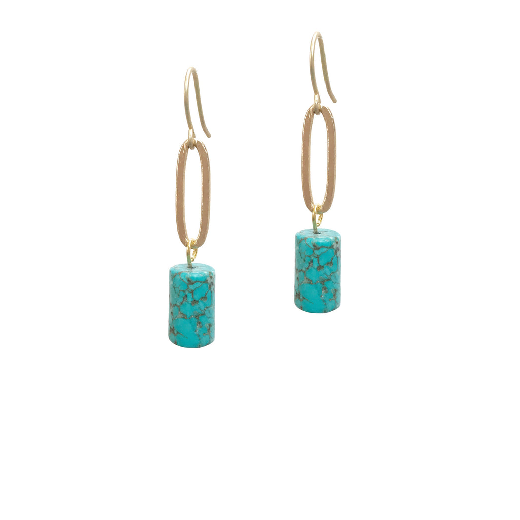 Cascada Turquoise Earrings