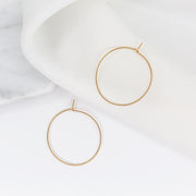 Weightless Small Hoops - 14k Gold Fill