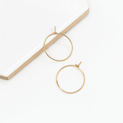 Weightless XS Hoops - 14k Gold Fill