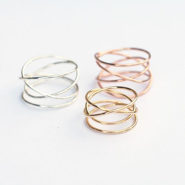Woven Ring - 14K Gold Fill