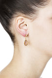Zelda Post Earrings - Gold 2