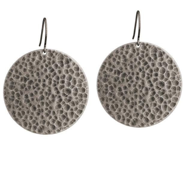 Jupiter Drop Large Earrings - Silver