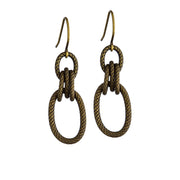 Minaret Earrings – Brass