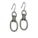Minaret Earrings - Silver