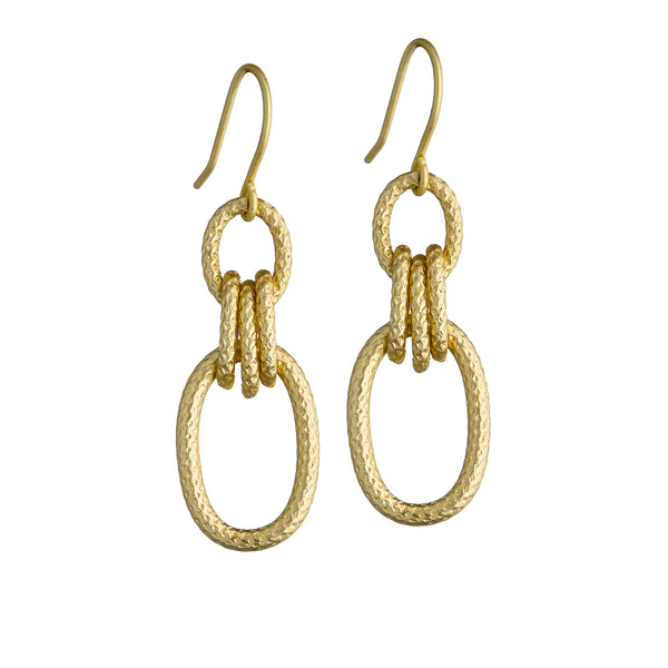 Minaret Earrings - Gold