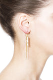 Osana Earrings – Gold 2