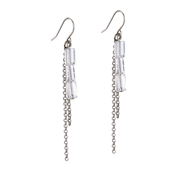 Osana Earrings - Silver