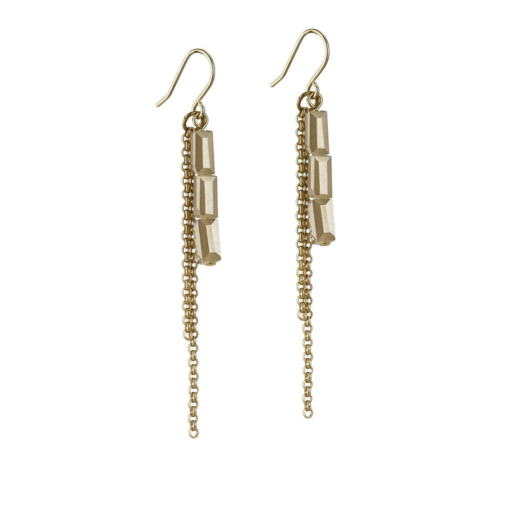 Osana Earrings – Gold