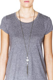 Spire Convertible Necklace - Silver 3