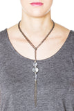 Spire Convertible Necklace - Silver 4