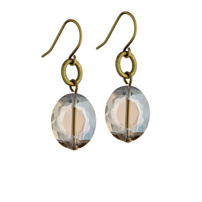 Sterlet Earrings - Brass