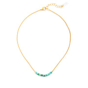Disc Necklace - Turquoise