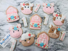 Load image into Gallery viewer, Pastel Barn Yard Decorated Sugar Cookies