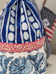 Ditty Bag Red White & Blue