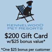 $200 Kennelwood w/$25 bonus* ($225 value*)