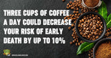 Three Сups Of Coffee a Day Could Decrease Your Risk Of Early Death By Up To 10%