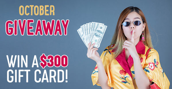 October Giveaway – Win a $300 Sollo Gift Card!