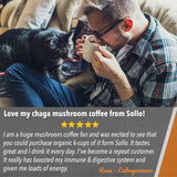 Sollo Medium Roast Chaga Immunity Organic Coffee Pods For Keurig