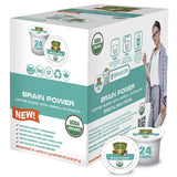 Sollo Medium Roast Brain Power Infused Coffee Pods For Keurig
