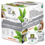 Sollo KETOgenic Proof Organic Green Tea Pods For Keurig