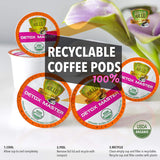 Detox Medium Roast Organic Coffee Pods For Keurig