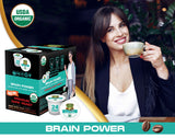 Sollo Dark Roast Brain Power Infused Coffee Pods For Keurig