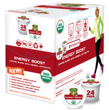 Sollo Energy Boost Coffee Pods For Keurig, 24 Count