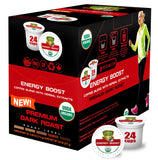 Sollo Dark Roast Energy Boost Coffee Pods For Keurig